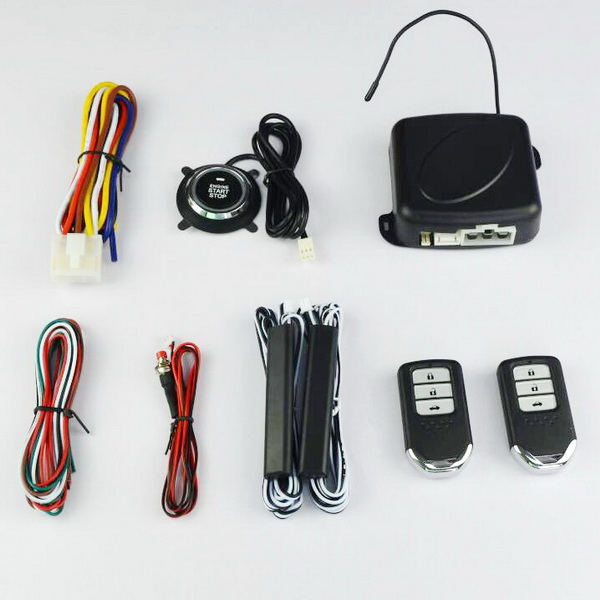 Car Alarm System Smart Button Starter off engine system